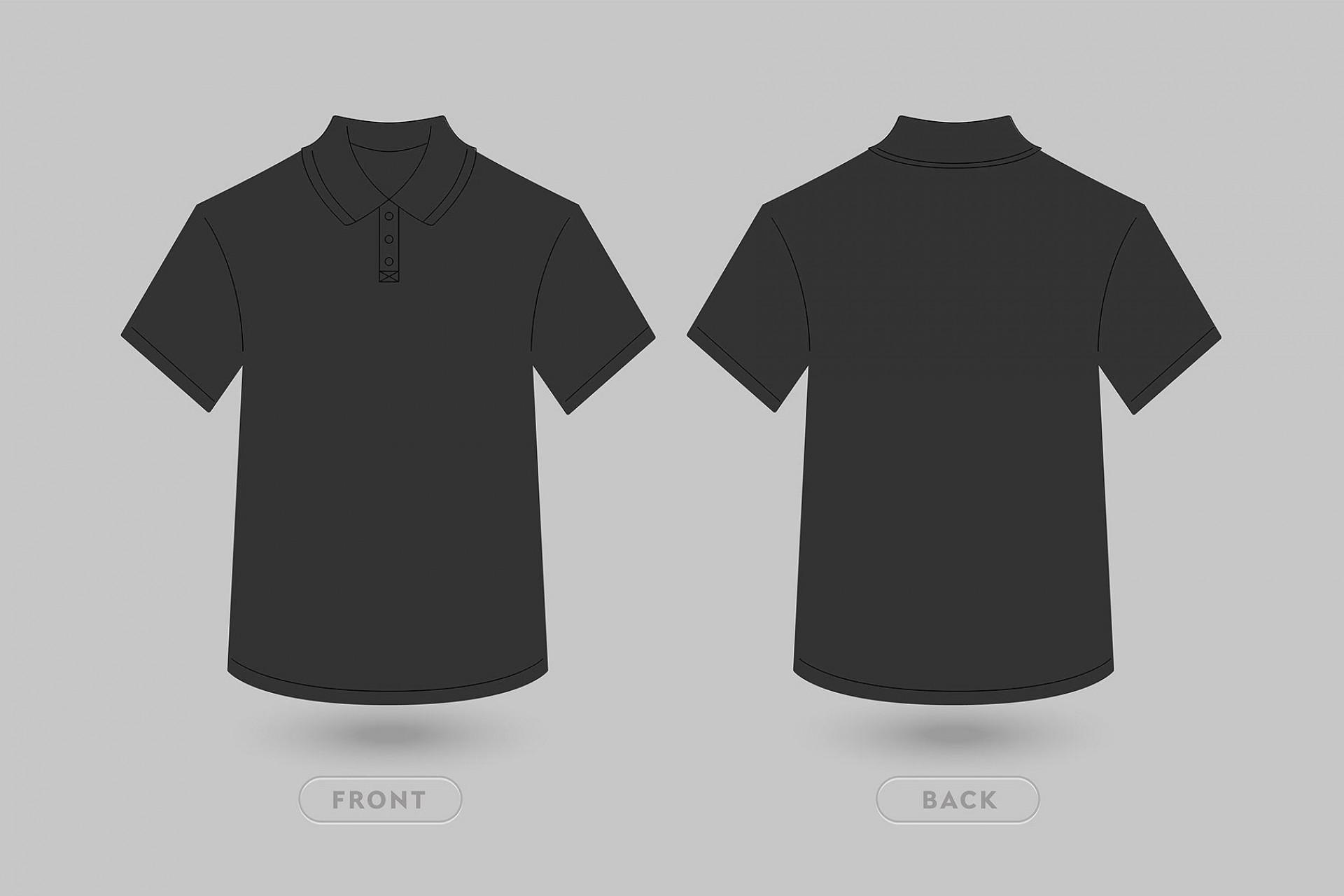 004 Unforgettable T Shirt Template Vector Design  Black Front And Back Free Download Illustrator1920