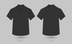 004 Unforgettable T Shirt Template Vector Design  Black Front And Back Free Download Illustrator