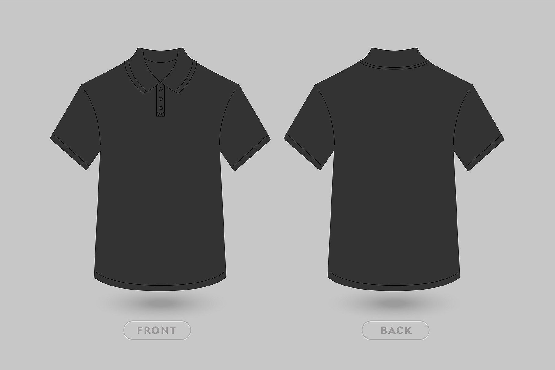 004 Unforgettable T Shirt Template Vector Design  Black Front And Back Free Download IllustratorFull