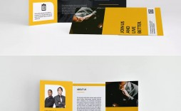 004 Unforgettable Tri Fold Brochure Indesign Template High Def  A4 Adobe Download