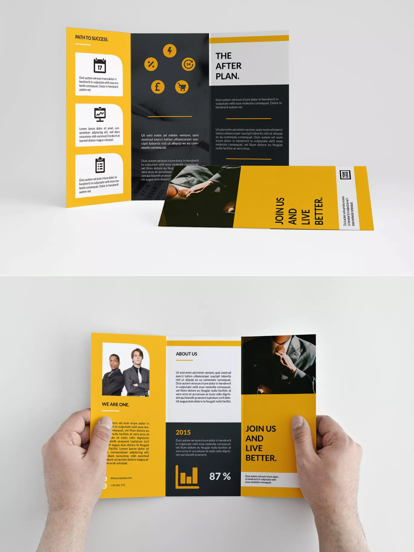 004 Unforgettable Tri Fold Brochure Indesign Template High Def  Free AdobeFull