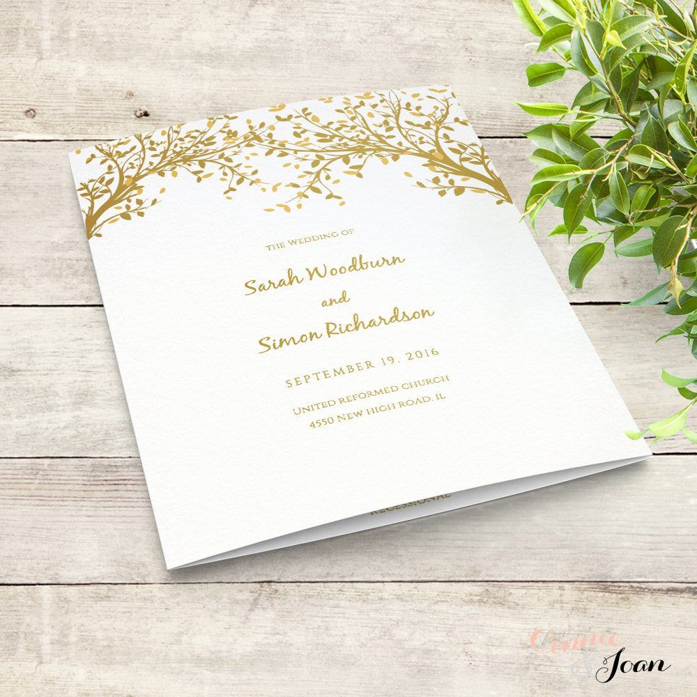004 Unforgettable Wedding Order Of Service Template Word Design  Free MicrosoftFull
