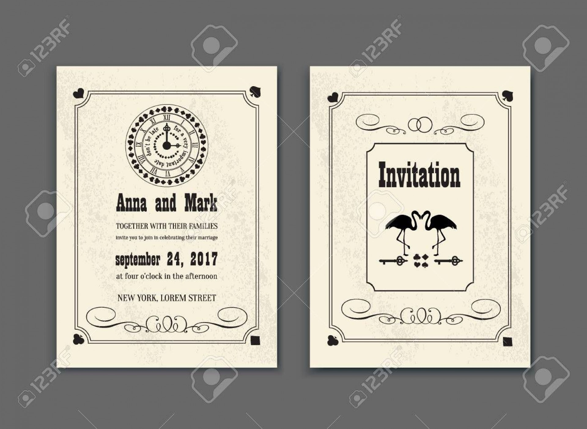 004 Unique Alice In Wonderland Party Template Highest Clarity  Templates Invitation Free1920
