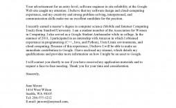 004 Unique Basic Covering Letter Template Concept  Simple Application Job Sample Cover