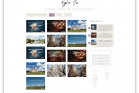 004 Unique Best Free Responsive Blogger Template Download Design