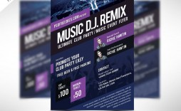 004 Unique Event Flyer Template Free Photo  Word Download Psd