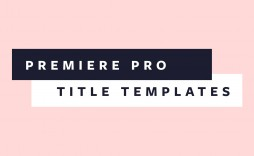 004 Unique Free Adobe Premiere Template Highest Clarity  Templates Pro Intro Rush Wedding Video