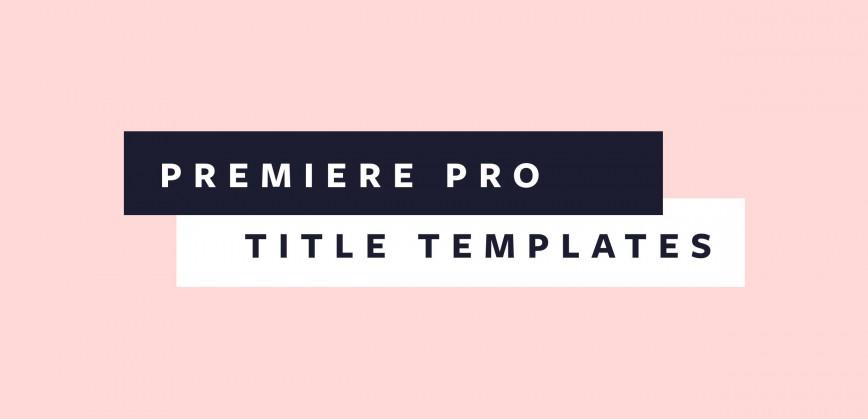 004 Unique Free Adobe Premiere Template Highest Clarity  Templates Video Wedding Title Pro Cc Text Download