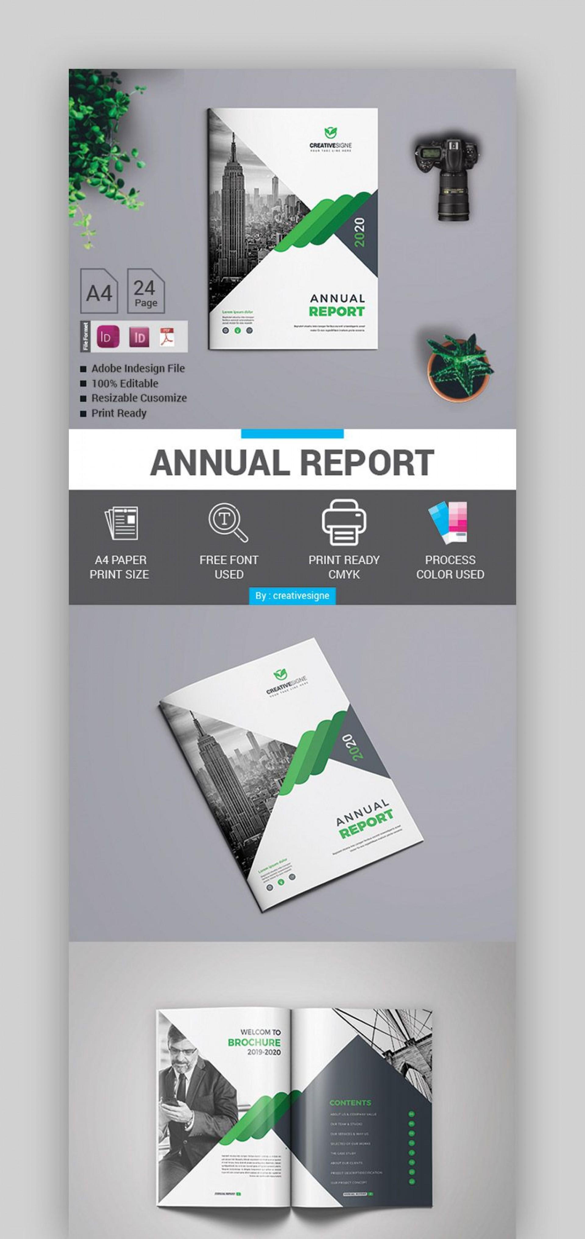 004 Unique Free Indesign Annual Report Template Download Concept 1920