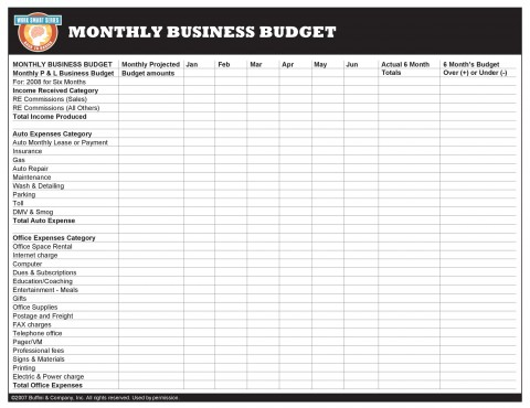 004 Unique Free Monthly Budget Template Download Design  Excel Planner480