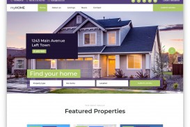 004 Unique Free Real Estate Template High Def  Website Download Bootstrap 4
