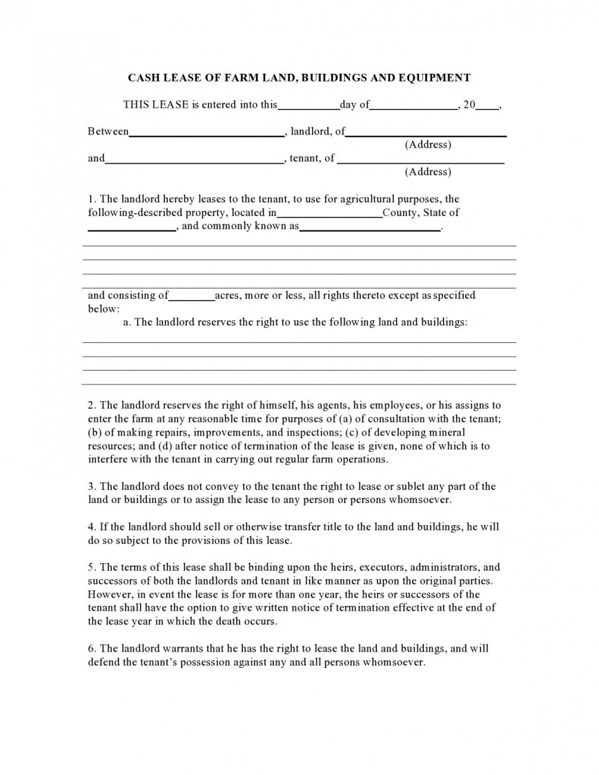 004 Unique Free Template For Rent Agreement Example  Printable Basic Rental Roommate Month To