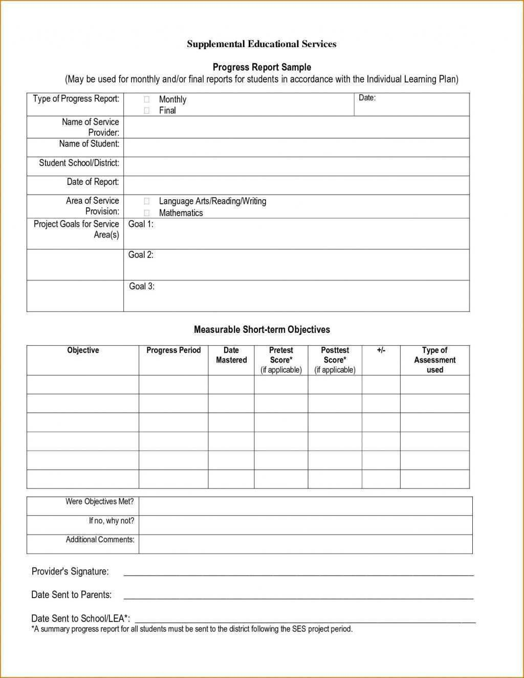 004 Unique Middle School Report Card Template Free Image Full