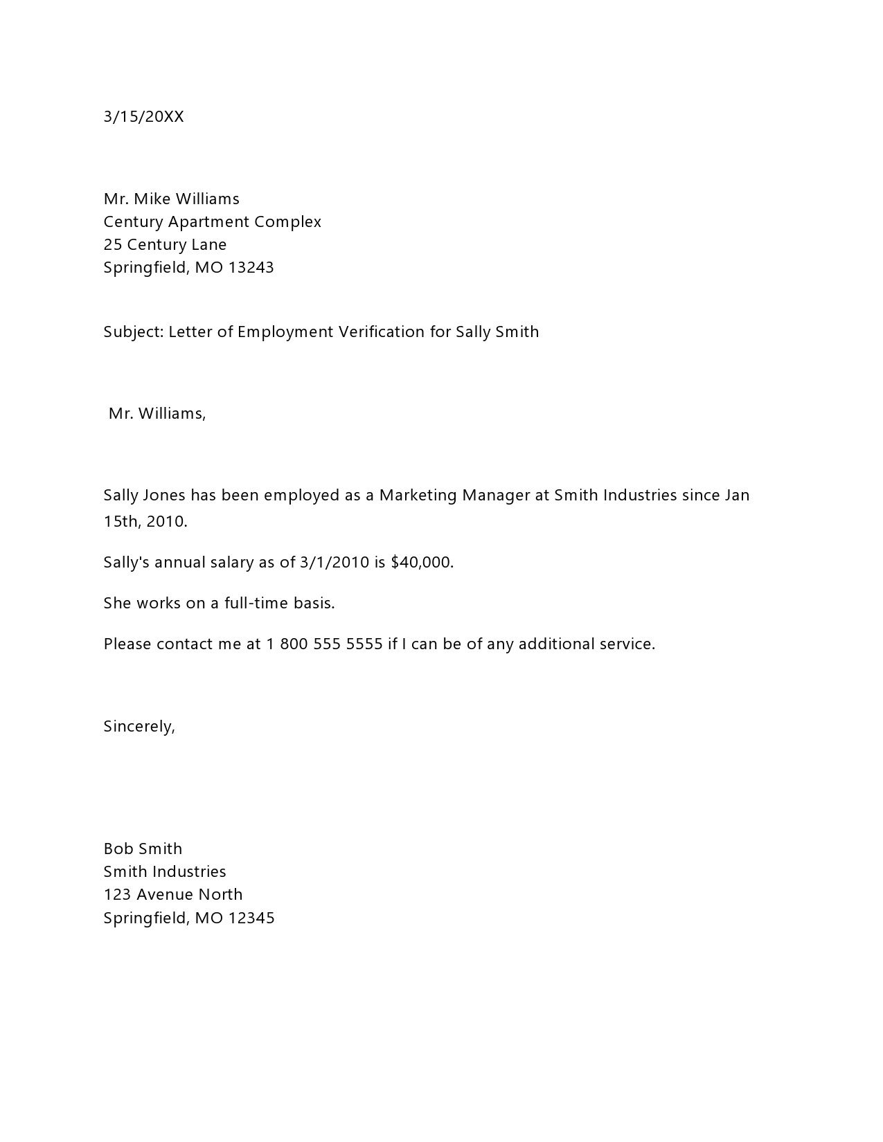 004 Unique Proof Of Employment Letter Template Doc Idea  Confirmation Document SampleFull