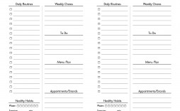 004 Unique Real Estate Daily Planner Template Picture