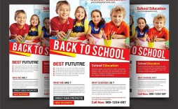 004 Unique School Picture Day Flyer Template Idea  Free