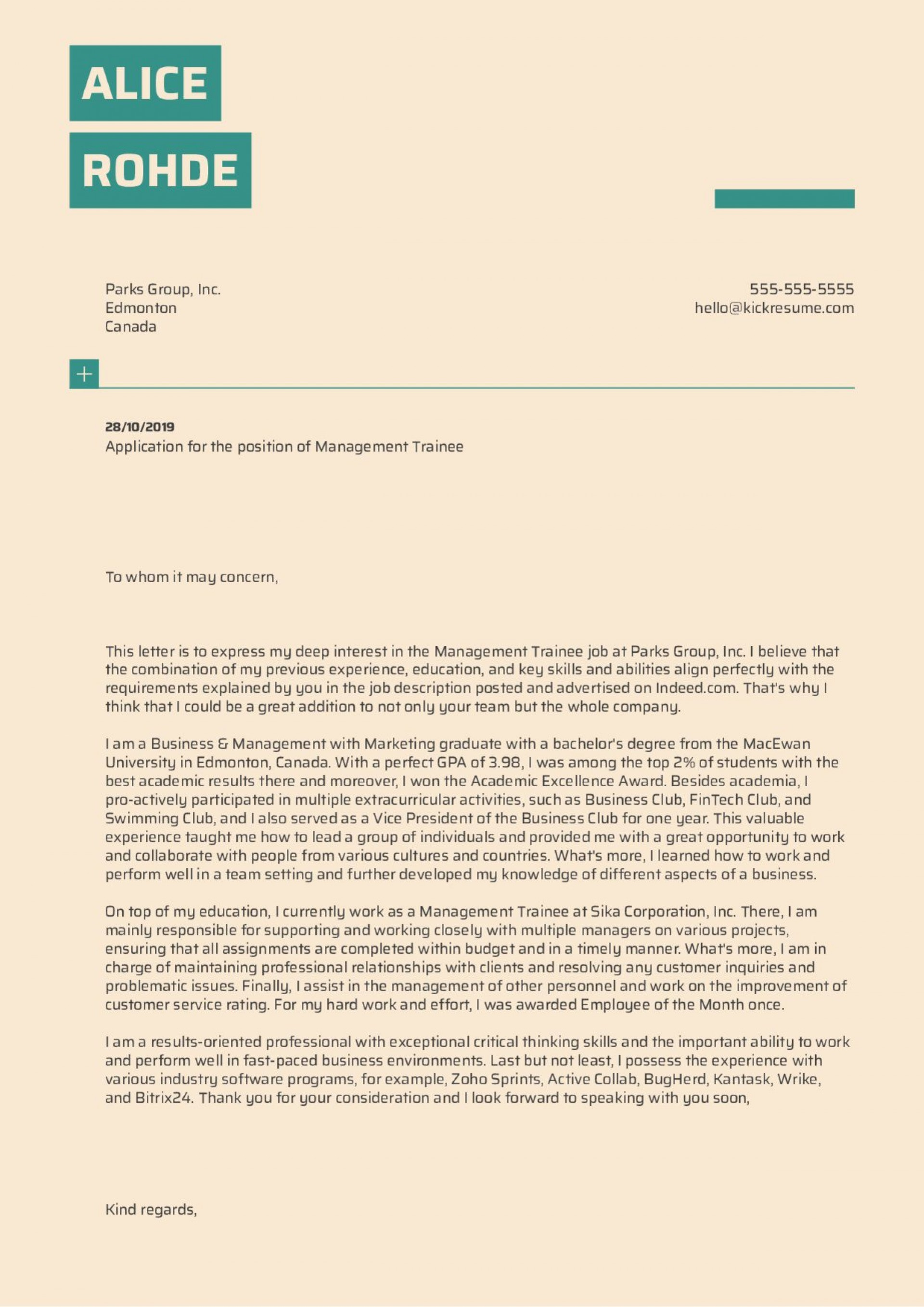004 Unique Short Cover Letter Template Highest Quality  Uk Story1920