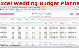 004 Unique Wedding Budget Template Excel Inspiration  South Africa Sample Spreadsheet