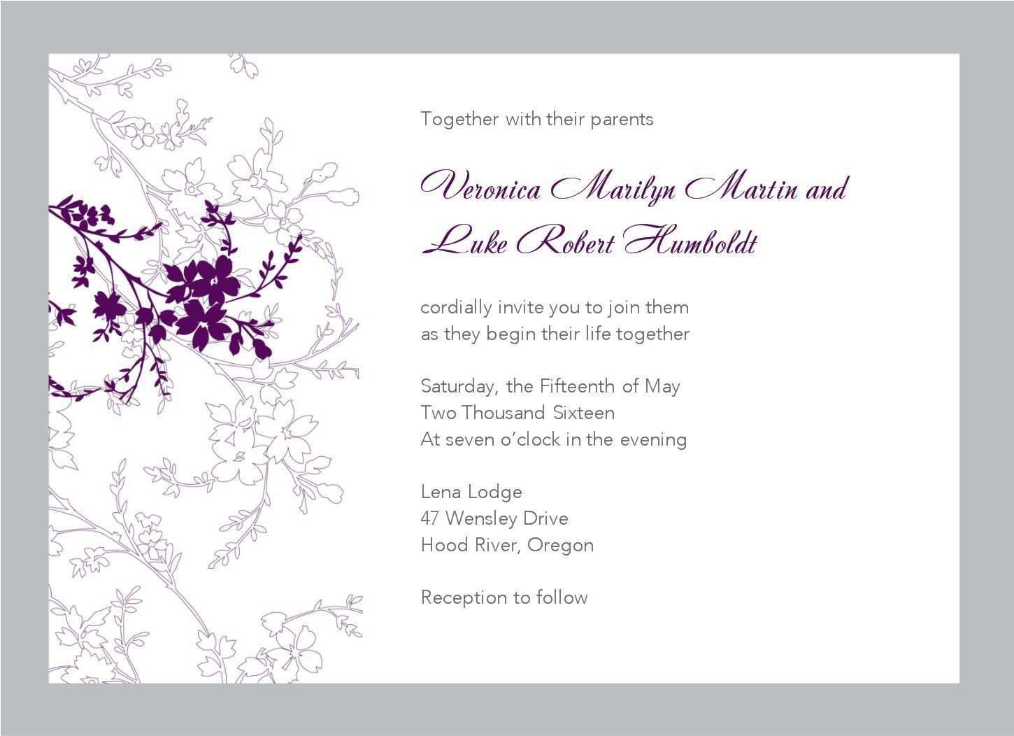 004 Unique Wedding Template For Word Picture  Free Invitation Indian Card M ProgramFull