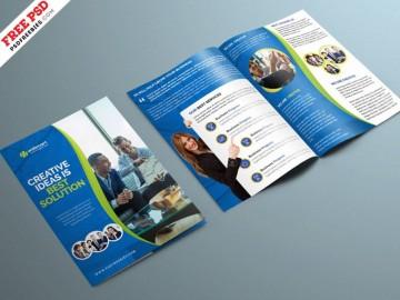 004 Unusual Corporate Brochure Design Template Psd Free Download Example  Hotel360