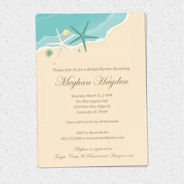 004 Unusual Free Couple Shower Invitation Template Download Photo 360
