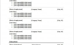 004 Unusual Free Printable Resume Template Word Image  Microsoft