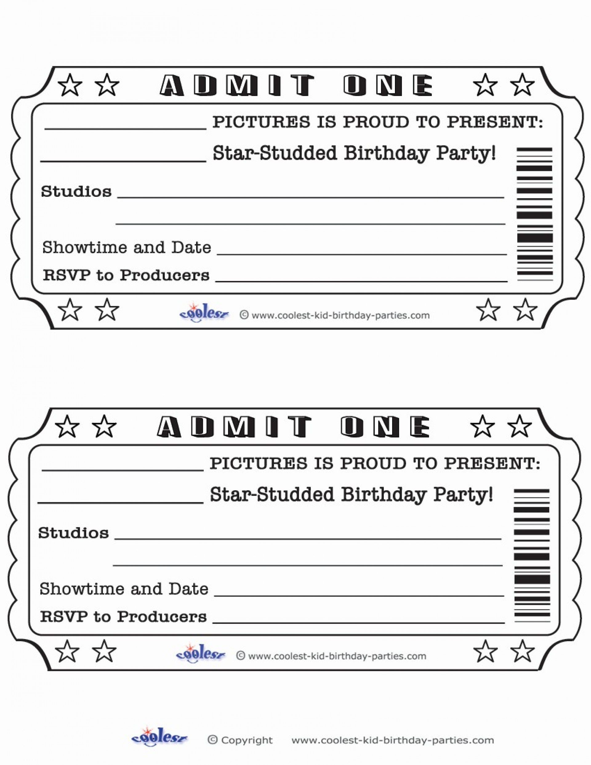 004 Unusual Free Printable Ticket Template High Definition  Raffle Printing Airline For Gift Concert1920