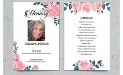 004 Unusual Funeral Prayer Card Template High Definition  Templates For Word Free