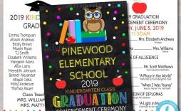 004 Unusual Preschool Graduation Program Template Highest Clarity  Templates Free Printable Pdf