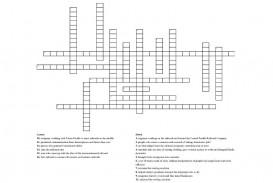004 Unusual Prosperity Crossword Sample  National Economic Clue Nyt Prosperou 11 Letter 10