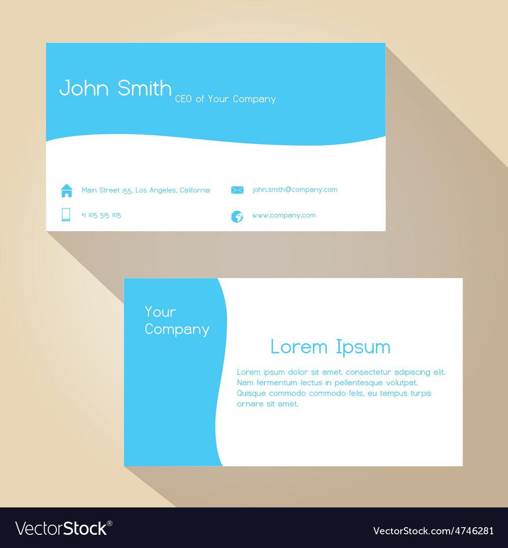 004 Unusual Simple Visiting Card Template Concept  Templates Busines Psd Design File Free DownloadFull