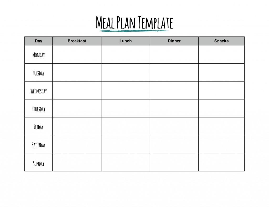 004 Wonderful 2 Week Meal Plan Printable Image Large