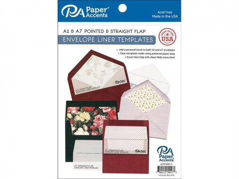 004 Wonderful A7 Envelope Liner Template Free High Resolution 480