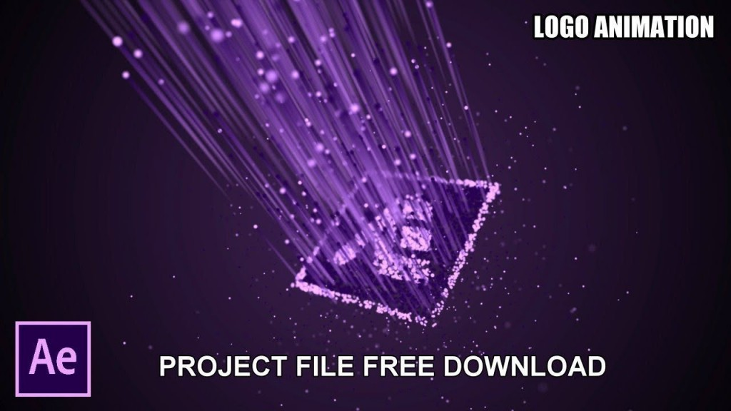004 Wonderful Adobe After Effect Logo Template Free Download Concept  Cs6 Title AnimationLarge