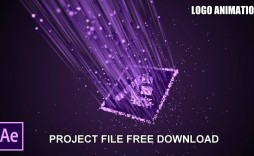 004 Wonderful Adobe After Effect Logo Template Free Download Concept  Cs6 Title Animation