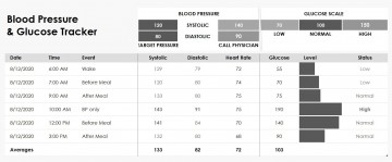 004 Wonderful Blood Glucose Tracker Template Concept  Spreadsheet Tracking360