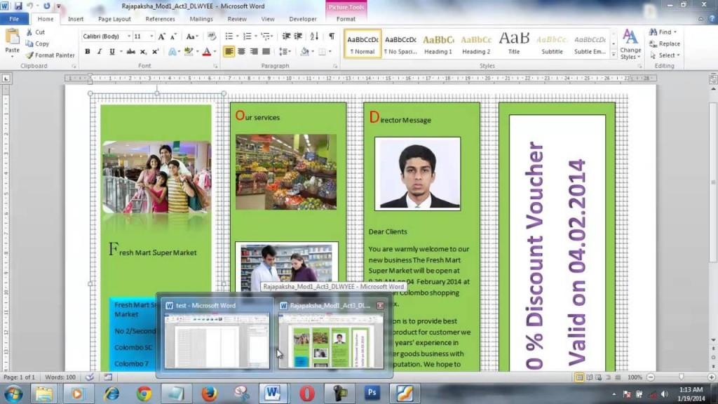 004 Wonderful Brochure Layout M Word Inspiration  Microsoft Funeral TemplateLarge