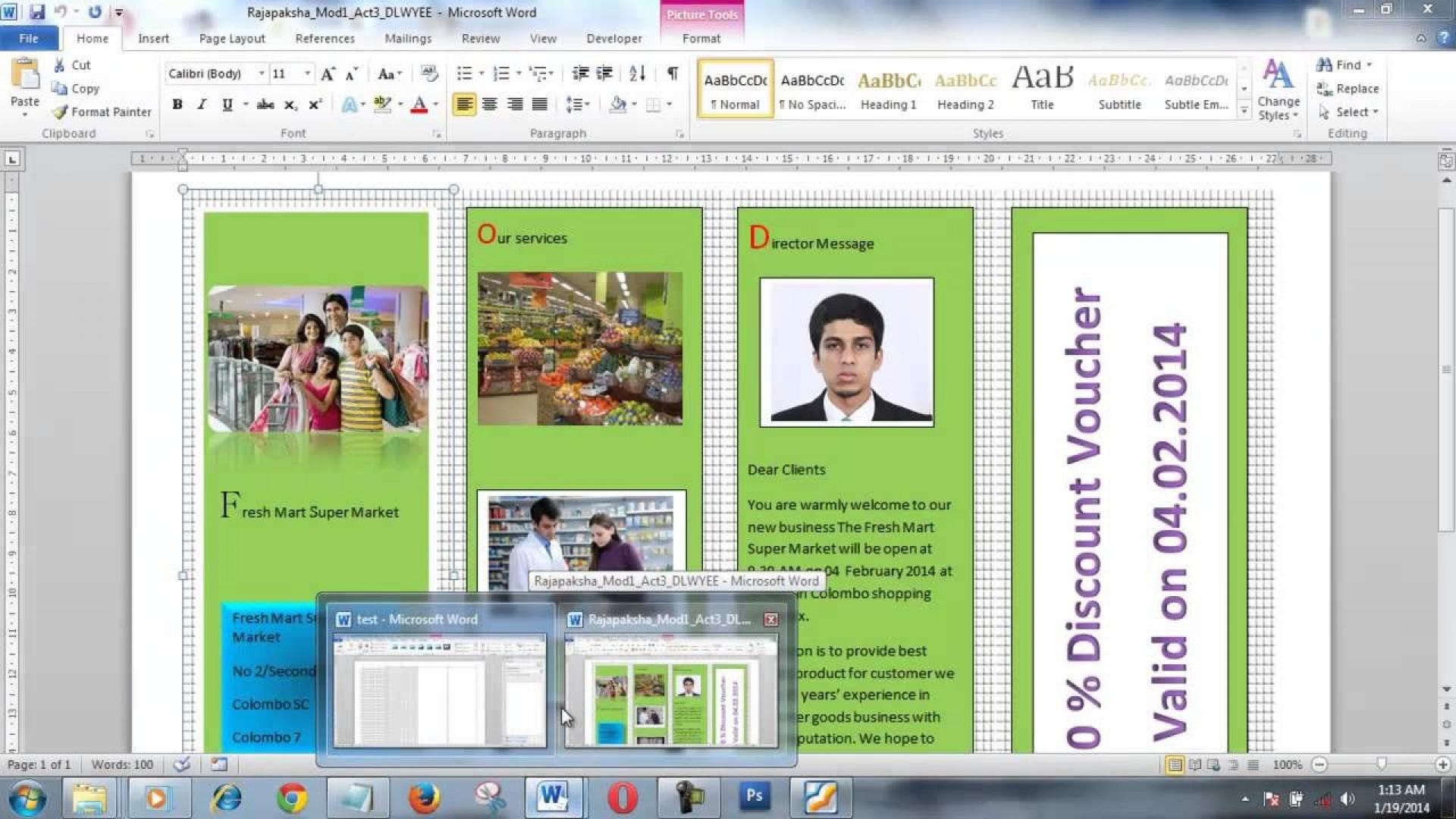 004 Wonderful Brochure Layout M Word Inspiration  Microsoft Funeral Template1920