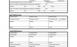 004 Wonderful Busines Credit Application Template Pdf Example  Form