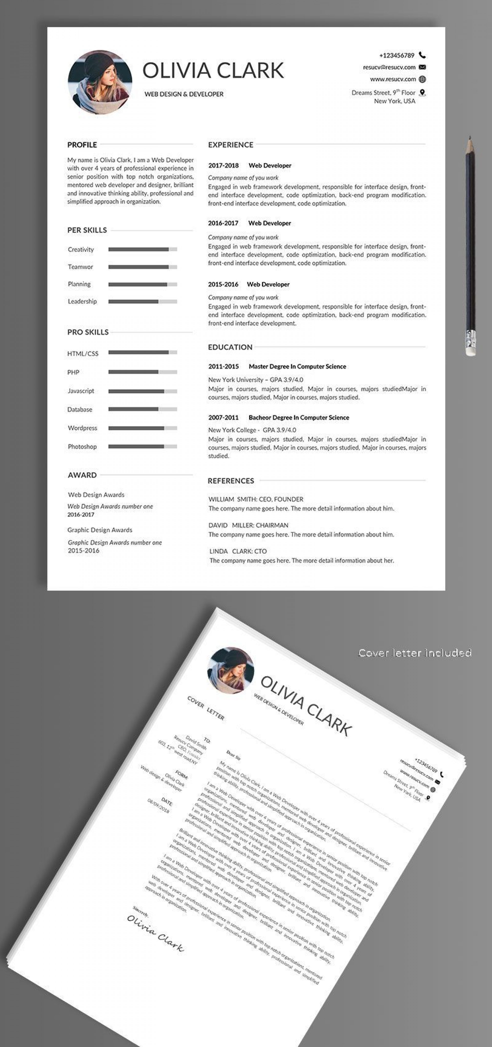 004 Wonderful Easy Free Resume Template Design  Templates Online Download Quick Builder1920