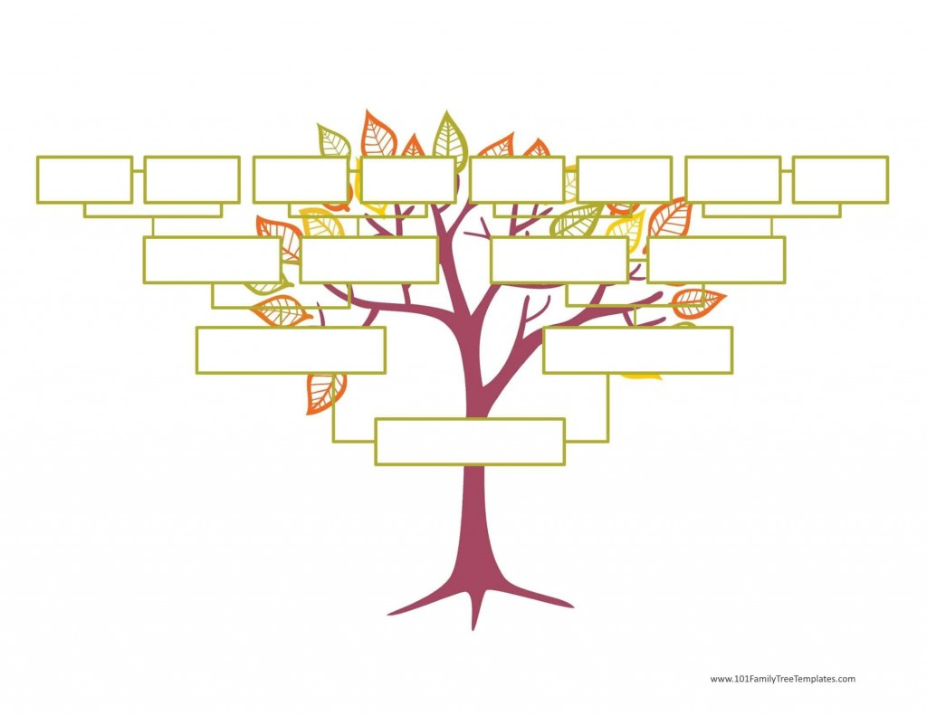 004 Wonderful Editable Family Tree Template Online Free Highest Clarity Large