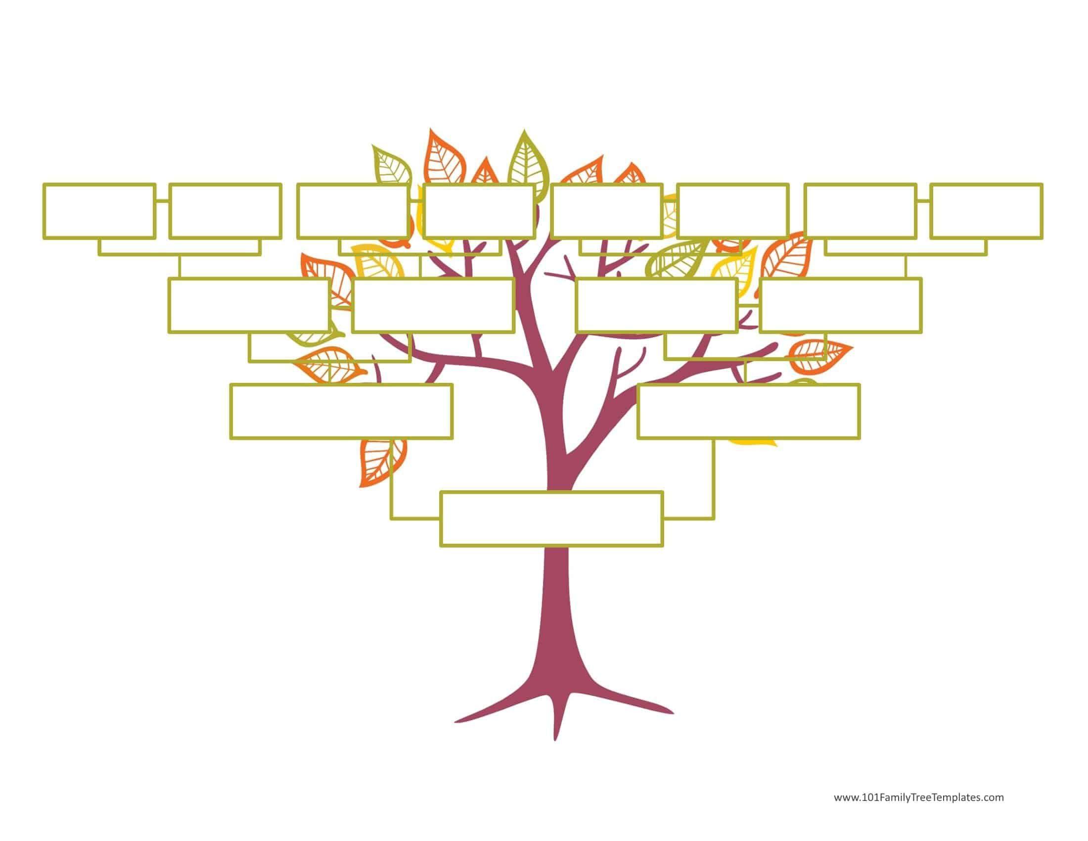 004 Wonderful Editable Family Tree Template Online Free Highest Clarity Full