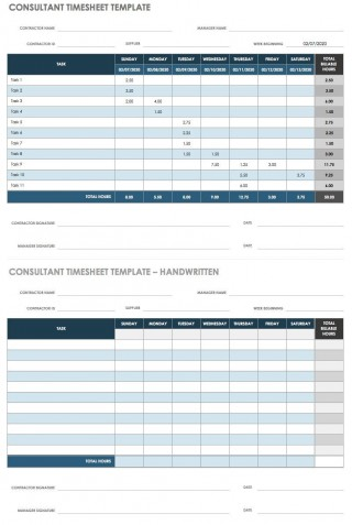 004 Wonderful Employee Time Card Printable Concept  Timesheet Template Excel Free Multiple Sheet320