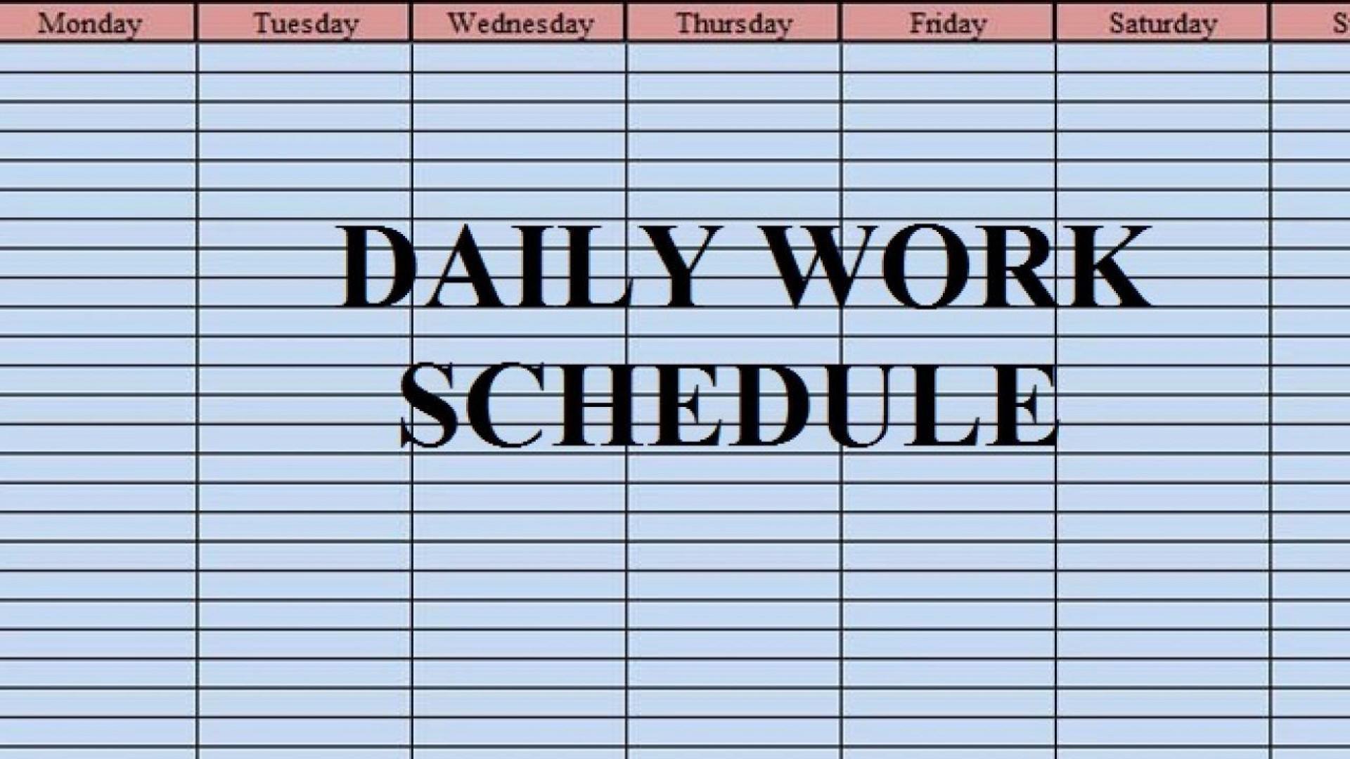 004 Wonderful Excel Work Planner Template High Def  Microsoft Monthly Schedule Plan Scheduling1920