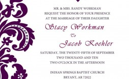 004 Wonderful Formal Wedding Invitation Template High Definition  Templates Email Format Wording Free