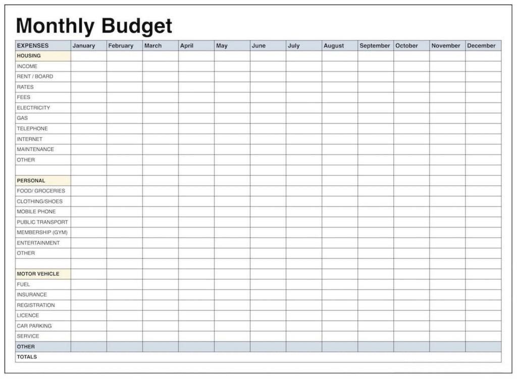004 Wonderful Free Blank Monthly Budget Sheet High Resolution  Printable WorksheetLarge