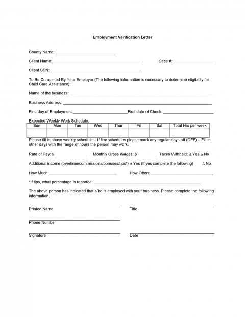 004 Wonderful Free Income Verification Form Template Inspiration 480