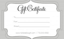004 Wonderful Free Printable Birthday Gift Voucher Template Idea