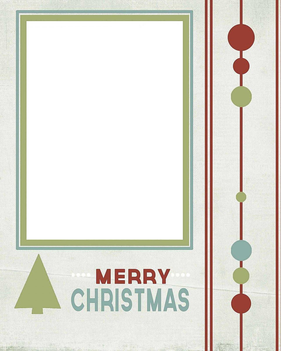 004 Wonderful Free Printable Christma Tent Card Template Idea 960