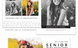 004 Wonderful Free Senior Template For Photoshop Idea  Collage